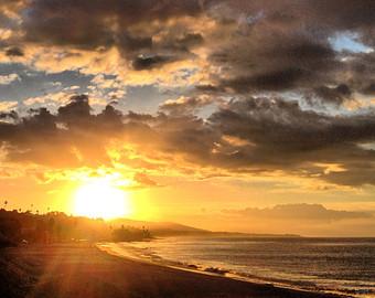 Easter sunrise in Daytona Beach