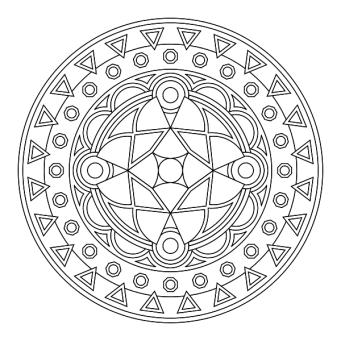 Mandala 600