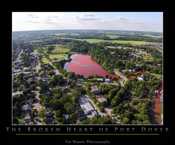 Broken Heart of Port Dover by Tim Warris