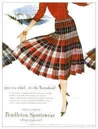 reversable pleated skirt