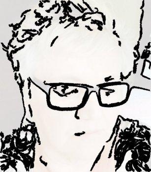 Peg Pencil drawing