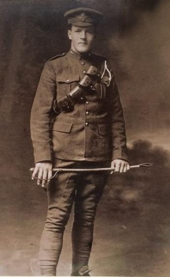 Grandpa McConachie - age 17 WW1