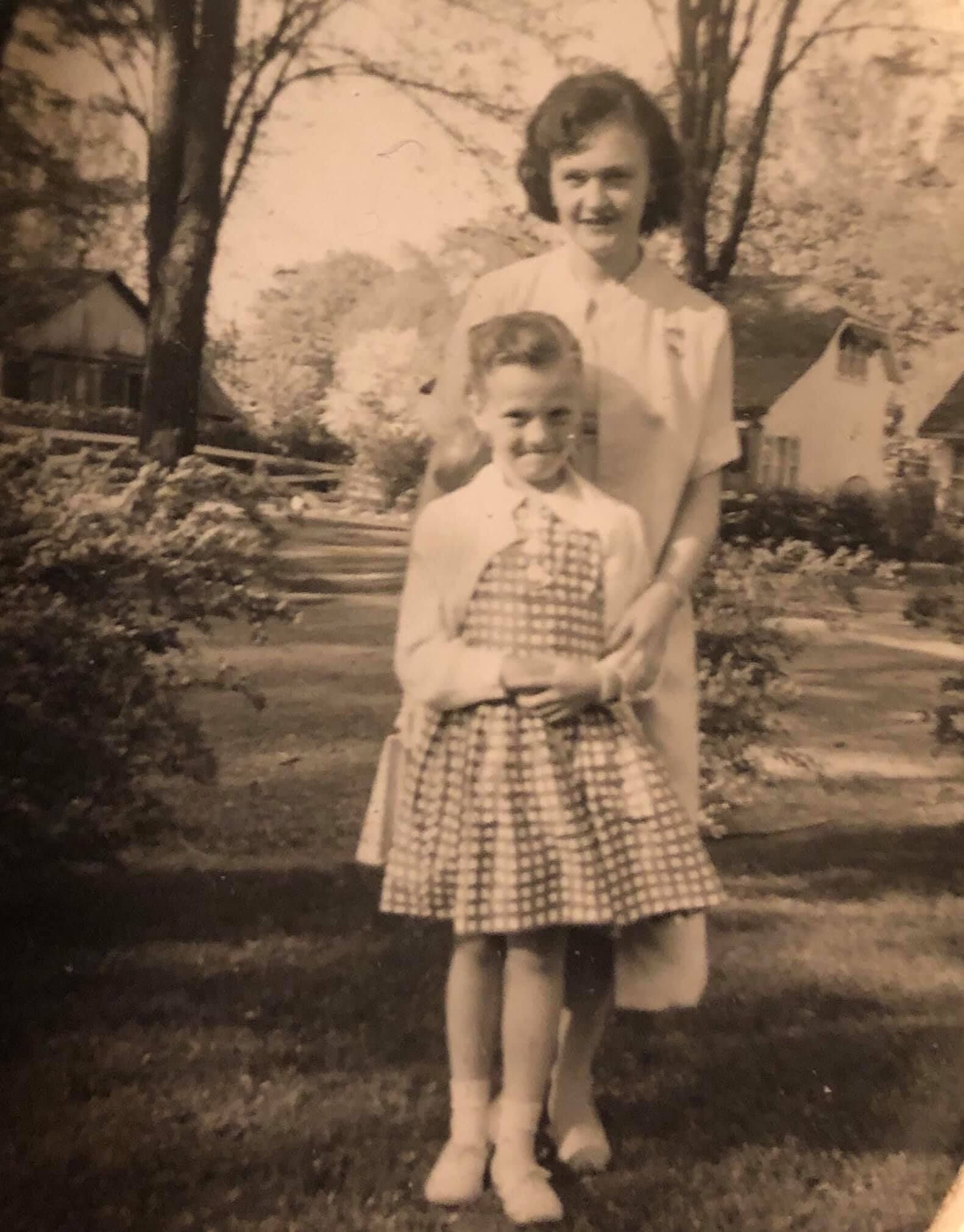 Mom and I circa 1960